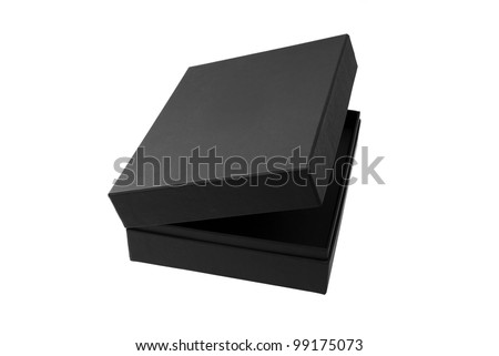 Black box isolated on white - #1