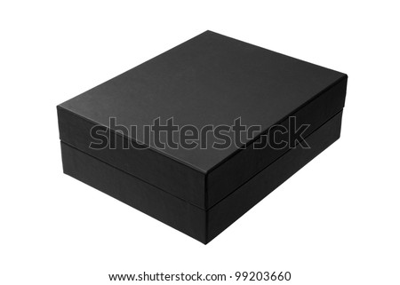 Black box isolated on white - #2