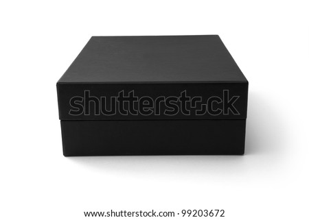 Black box isolated on white - #4