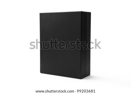 Black box isolated on white - #5