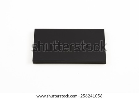 Black box squares. Small device electricity to recharge of smart phone.