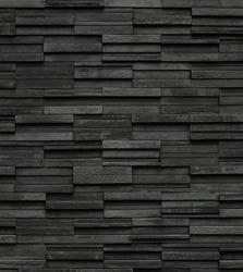 Black bricks slate texture backgrounds
