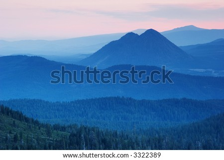 Black Butte at Sunrise