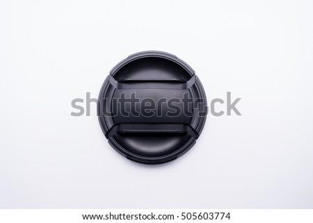 Black camera lens cap #505603774