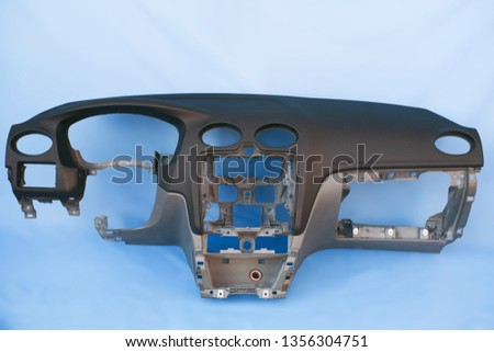 black car dashboard without dashboard #1356304751