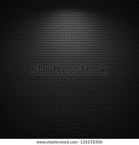 Black carbon pattern texture background