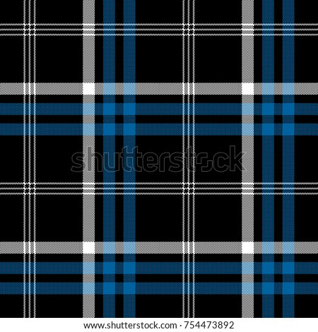 Black check pixel square fabric texture seamless plaid.
