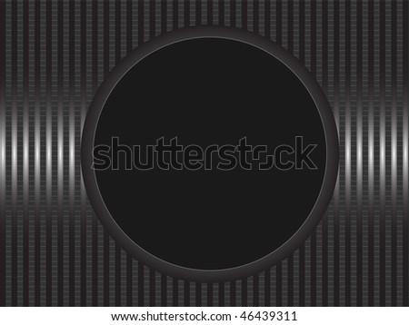 Black Circle Frame