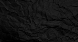 Black clumped Paper texture background, kraft paper horizontal with Unique design of paper, Natural paper style For aesthetic creative design