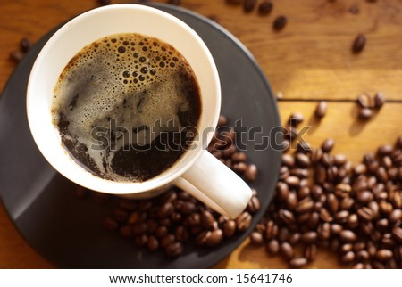 Black Coffee (from above)