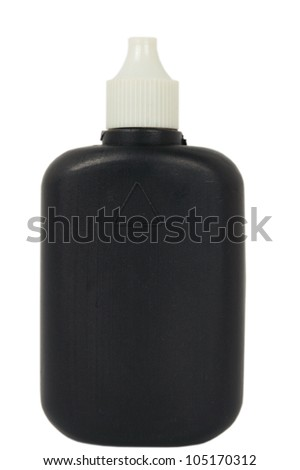 black container isolated - stock photo