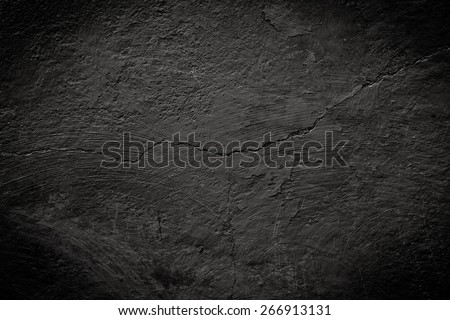 black cracked texture can be used for background - Shutterstock ID 266913131