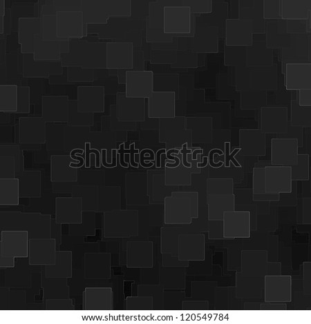 black cube background with abstract lines pattern
