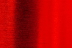 Black deep stainless red grunge shiny glitter Valentine's Day texture background. Gradation foil color red light silver metal Christmas background.  top view.