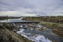 Black Eagle dam Great Falls Montana