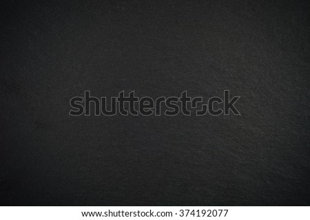Black empty slate board with vignette for texture or background #374192077