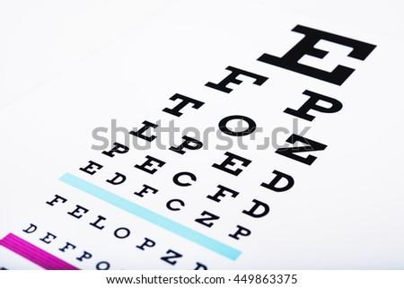 black eye glasses on white background #449863375