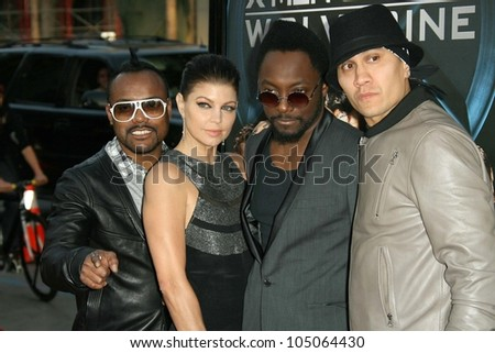 Black Eyed Peas  at the Industry Screening of \'X-Men Origins Wolverine\'. Grauman\'s Chinese Theater, Hollywood, CA. 04-28-09