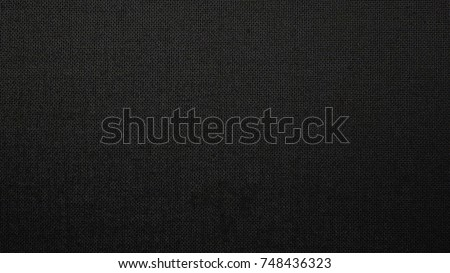 Black Fabric Background Texture