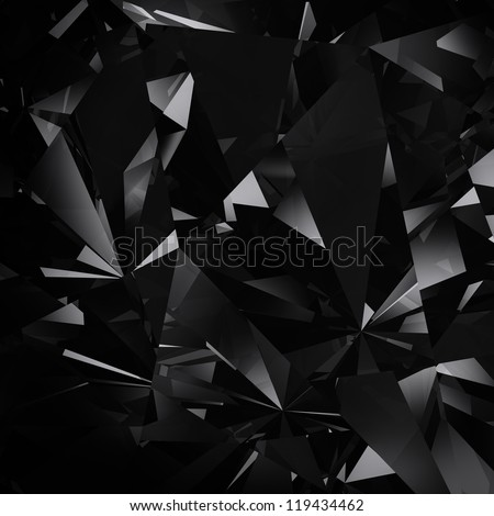 black facet background