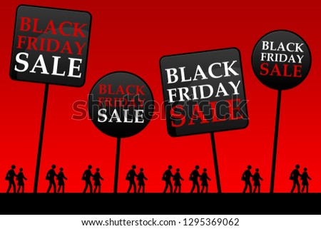 Black Friday is the day following Thanksgiving Day (USA) and is considered as the beginning of the Christmas shopping season, with lots of promotional sales and major retailers opening very early.