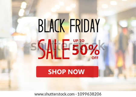 Black friday sale online shopping banner background, web banner, shopping on line promotion, digital marketing, business and technology #1099638206