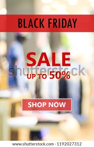 Black friday sale online shopping banner background, web banner, shopping on line promotion, digital marketing, business and technology #1192027312