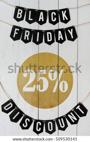 stock-photo-black-friday-twenty-five-per