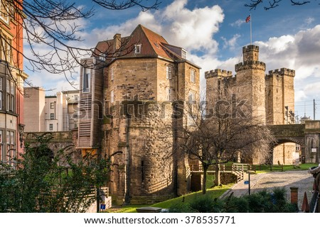 Black Gate Gatehouse and Castle Keep / The Castle Keep and Black Gate in the city centre are all that remain of a medieval fort which gave the city its name. Combined as The Castle visitor attraction
