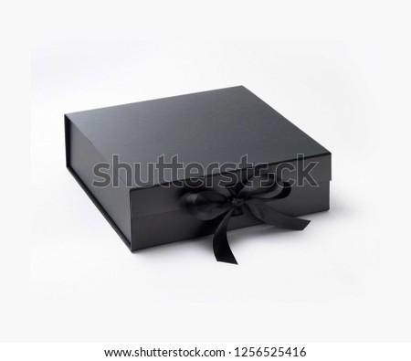 Black Gift Box #1256525416
