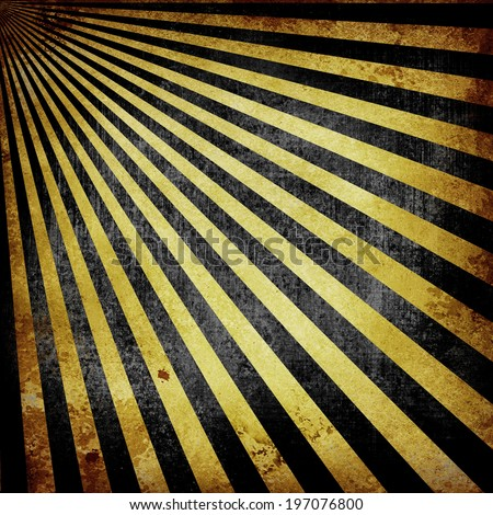black gold background retro striped layout in old faded vintage colors, abstract sunburst background pattern texture, vintage grunge background, sun ray or beam design