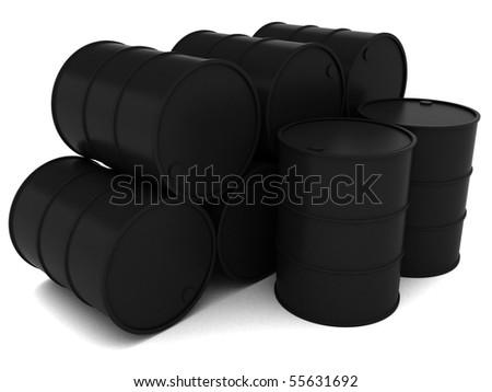 Black Gold (Oil Barrel)
