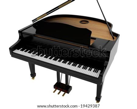 Black Grand Pianos Black Grand Piano