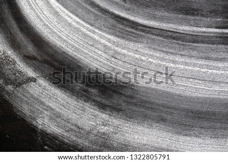 black graphite background with flour #1322805791