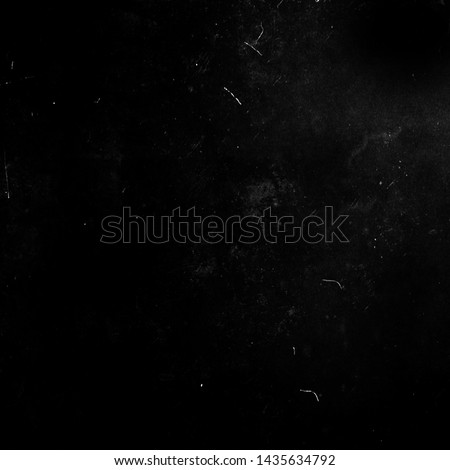Black grunge scratched background, old film effect, distressed scary horror texture