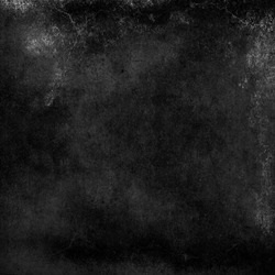 Black grunge textured background, old wall