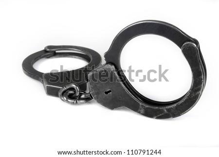 black handcuff