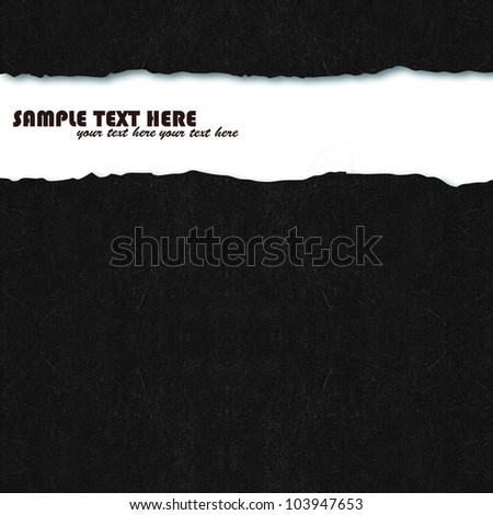 Black handmade mulberry paper,for text