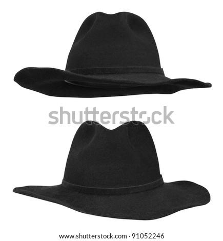 Black hat isolated on white background #91052246