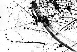 Black ink textures japan