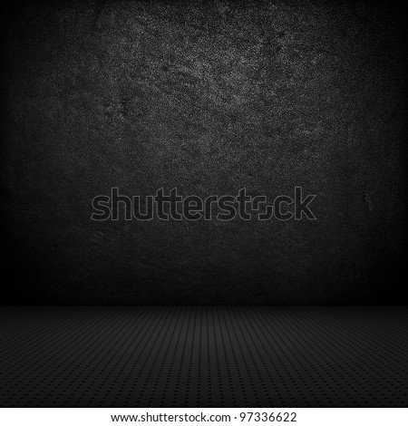Black interior background
