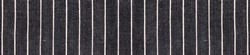 Black isolated textile background with white stripes