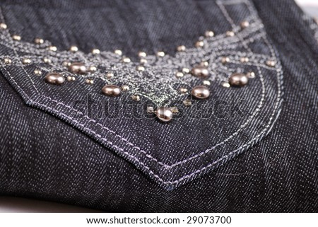 Denim Borders and Pocket Toppers 4x4 embroidery design collection