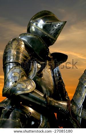 Black knight Musee de l'Armee Paris France