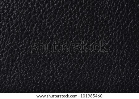 Black Leather or Skin Texture as Wallpaper or Background