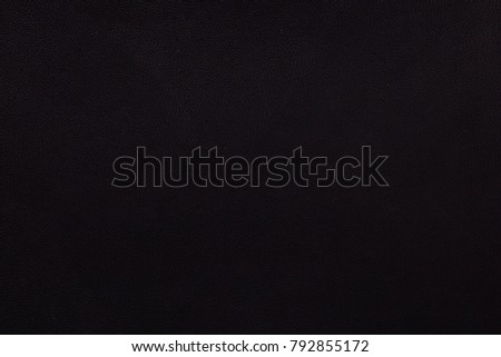 Black leather surface. Background. Texture - Shutterstock ID 792855172