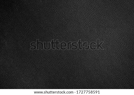 Black leather texture and background Foto stock ©