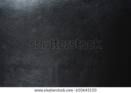 Black leather texture and background #610643150