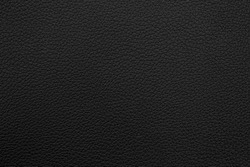 Black leather texture background.