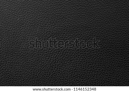 Black leather texture background. Foto stock ©